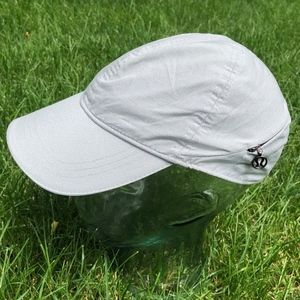 Lululemon go the distance run hat gray sparkle